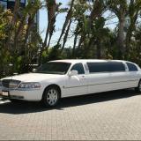 Lincoln 10 Passenger White Limo