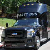 Ford F-550 Party Bus Black