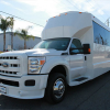 Ford F-550 Party Bus White