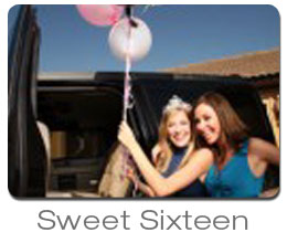 Party Bus and Limousine for Sweet Sixteen