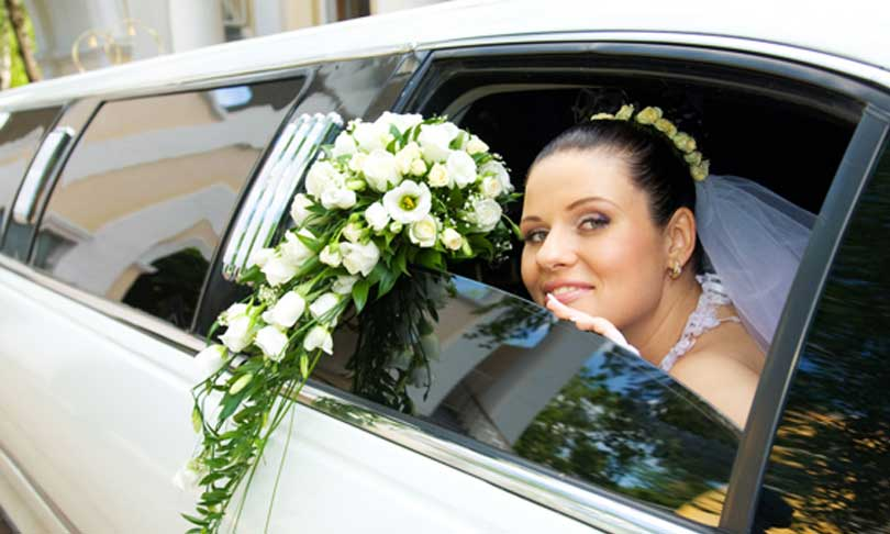 Wedding Party Bus Limousine services Los Angeles